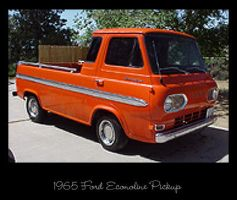 1965 Ford Econoline Pickup by raverqueenage