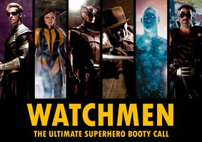 Watchmen Poster by Haveba25