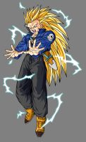 Trunks SSJ3 by hsvhrt