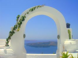 Blue Arch by Tanit-Isis