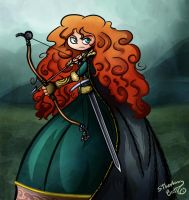 Brave - Merida by sthephanymel