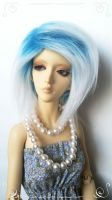 Icy blue by Catzilerella