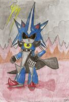 Metal Sonic by EpicOverload