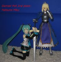 Anime DID Poll: 2nd Place: Hatsune Miku by alleghany71