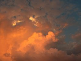 Clouds at sunset in Naples by serenainwonderland