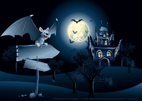 Actomic Halloween Illustration by Actomic