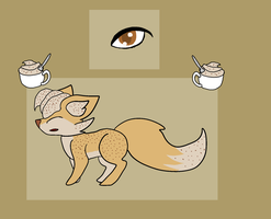 cappuccino fox by PoltergeistForever