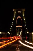 Cars on the Clifton Bridge :) by lordradi