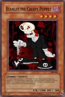 PBV - YGO Cards - Stanley the Creepy Puppet by PlayboyVampire