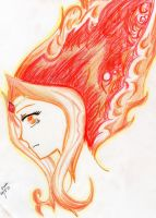 Flame Princess by ButterflyInMaze