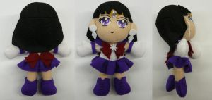 Sailor Saturn Plushie by sakkysa