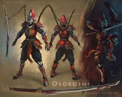 Osoroshi - Samurai of Doom by LucasParolin