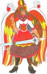 Harmonia Profile 2 - Angelic Flame by Clipperwhiz1