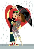 Under the Umbrella - Clrs by lydiascats