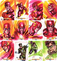 JLA Cards set 8 by ronsalas