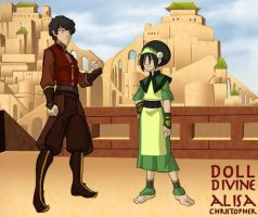 The Lost Ones- Toph and Zuko by GamerGirl14