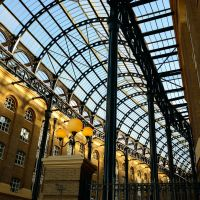 Hay's Galleria, London Bridge by Chrislikestodraw