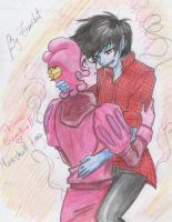 Prince Gumball x Marshall Lee  Yaoi by Tsu-Art