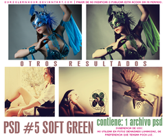 PSD Coloring #5 - Soft Green by oursolemnhour89