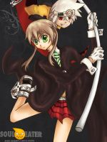 Maka and Soul by Joshdinobarney