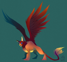 Griffin / Gryphon by ArcaneAvis