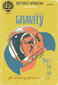 Gravity, The Pulp Cover by LeoluxArt