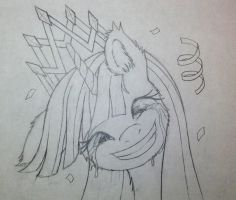 Coronation (Sketch) by Cyle