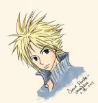 cloud strife by HiROBii