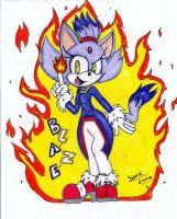 :RQ 2: Blaze the Cat by Sonicemma