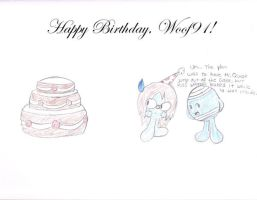 Happy Birthday - Woof91 by Drarin1