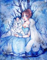 - Whiter Tiger - ICE ELEMENT by Hoshino-Arashi