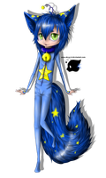 Cosmic Space Cat chibi by Absur-D