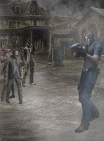 RE4 Leon S Kennedy by Squall-Darkheart