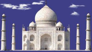 Taj Mahal PSD by manoluv