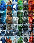 Bionicle all toa by Toa-fullmetal
