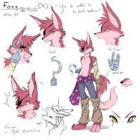 FNAF | Foxy RefSheet | After 87 by Myebi