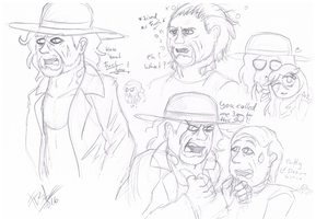 .:[DOODLE] SOME UNDERTAKER:. by Maniactheleader