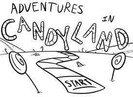 Adventures in Candyland shirt by Stevethepencil