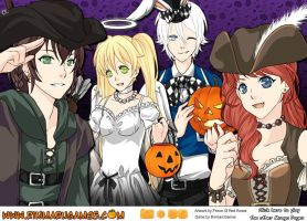 The Big Four (Halloween) by CeceStine