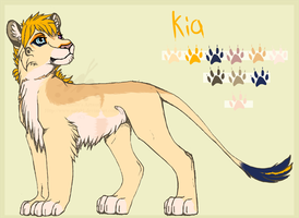 Kia - Reference Sheet by Nala91