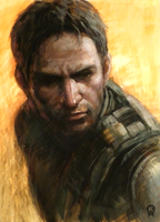 Chris Redfield by MKage