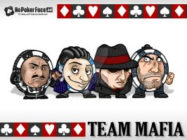 Mafia Poker Chips by AngelCrusher
