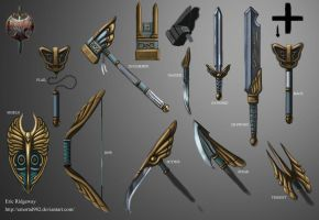 Renegade: Valkyrie weapon set by Emortal982