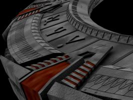 Stargate Polygonal Close Up by user4574