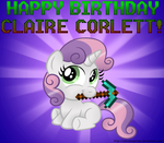 Happy Birthday to Claire Corlett by AleximusPrime