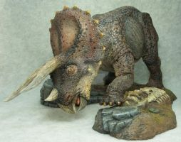 Triceratops by mangrasshopper