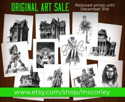 Art Sale by mscorley
