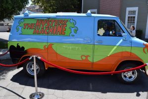 The Mystery Machine by annonmyous