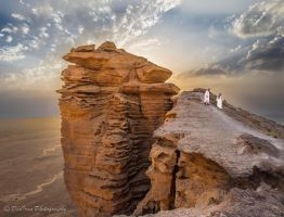 On Top of, the Edge of the World... by DeoIron