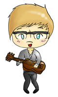 Cameron Mitchell -Chibi- by scr3aam3r